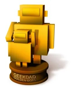 GeekDad Golden Bots