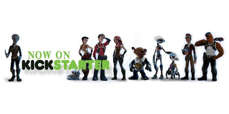 Now On Kickstarter banner