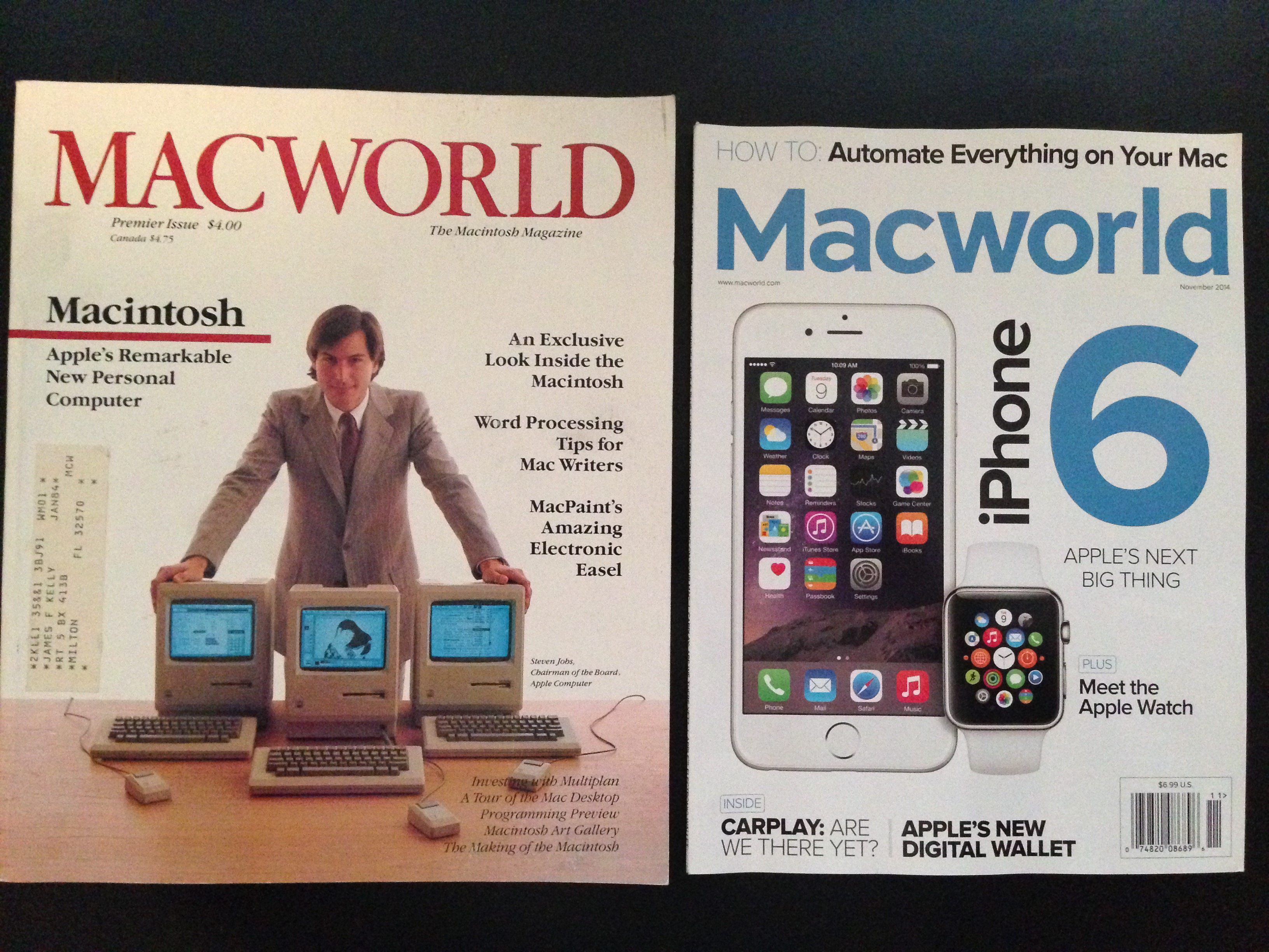 Macworld - first and last