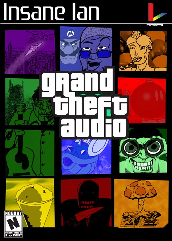 Insane Ian's Grand Theft Audio is Video Game Infused Parody