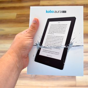 Kobo Aura H20 is a premium e-reader