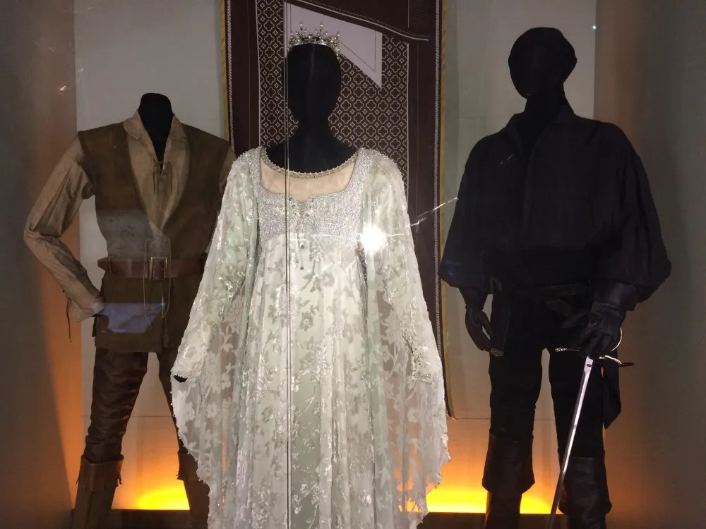 Costumes from the Princess Bride, photo by Corrina Lawson