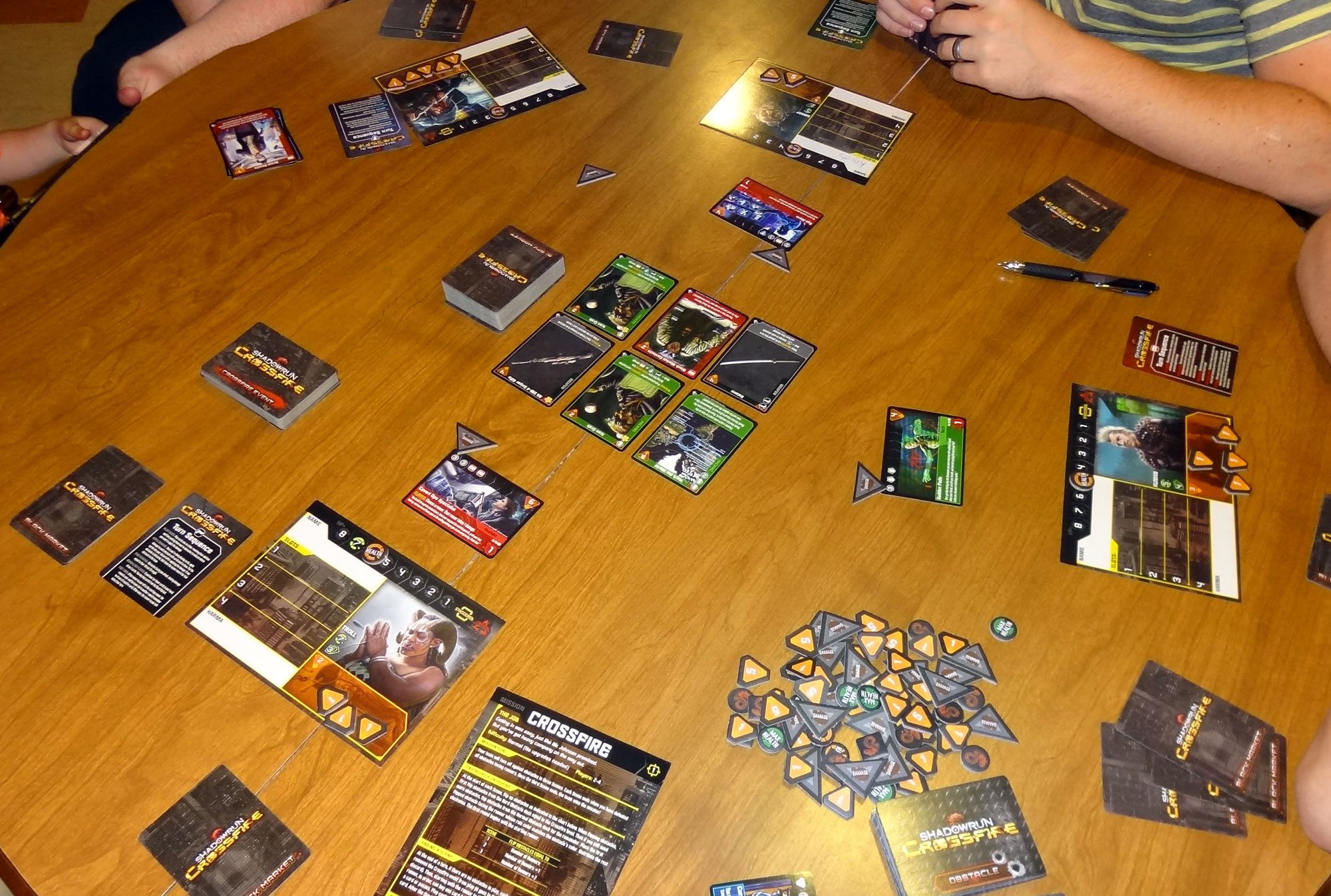 Shadowrun Crossfire Play