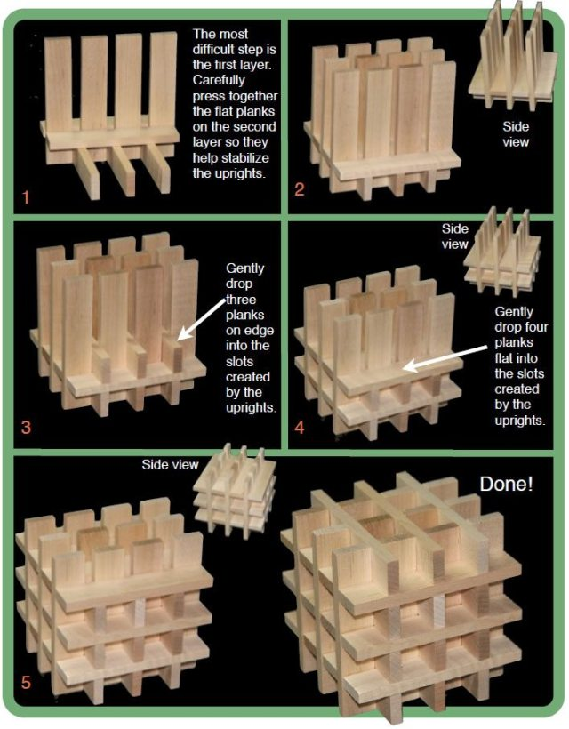 Keva Cube Instructions