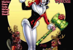 Harley Quinn Holiday Special  Art by Amanda Connor