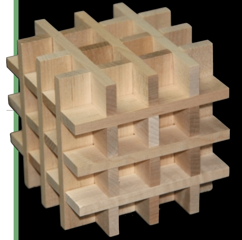 How to build an impossible woven box with keva planks for Plank blocks