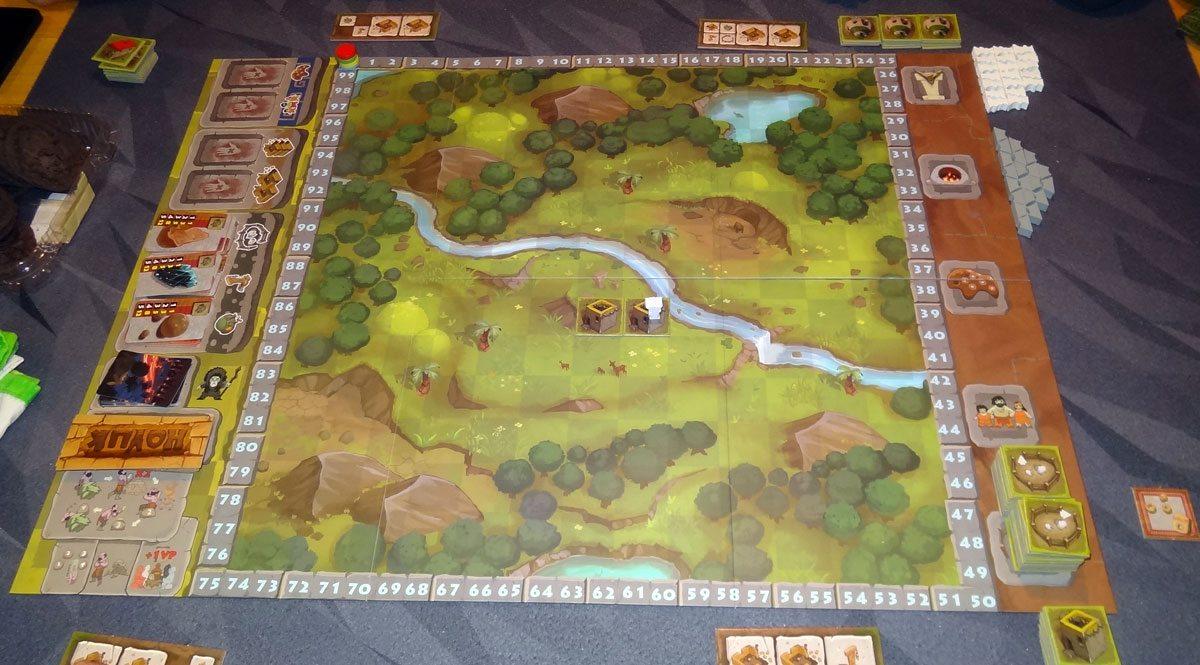 Hoyuk starting basic game