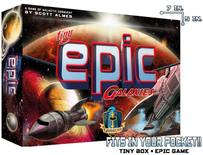 Tiny Epic Galaxies box
