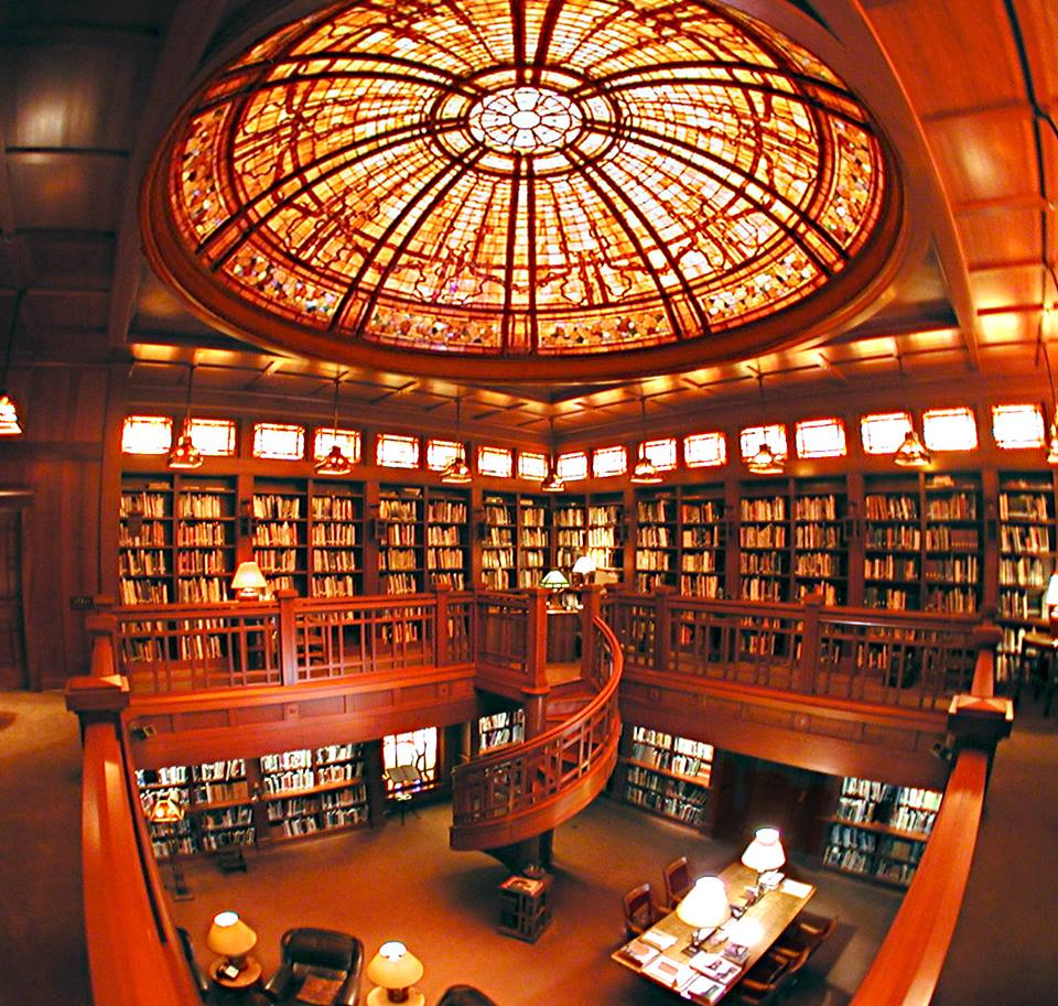 The library at Skywalker Ranch. © & TM Lucasfilm Ltd. All Rights Reserved.