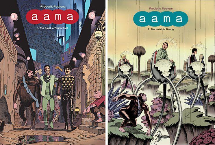Aama Volumes 1 & 2