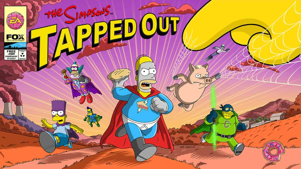 'The Simpsons: Tapped Out' Goes Comic Book