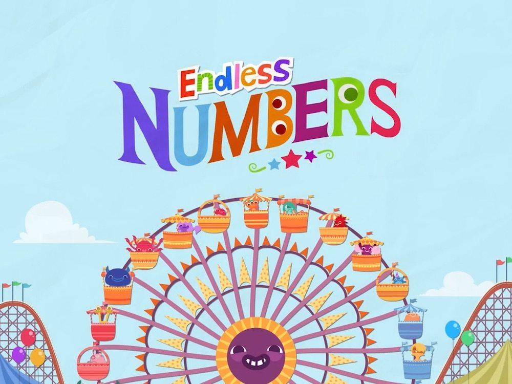 Endless Numbers splash screen