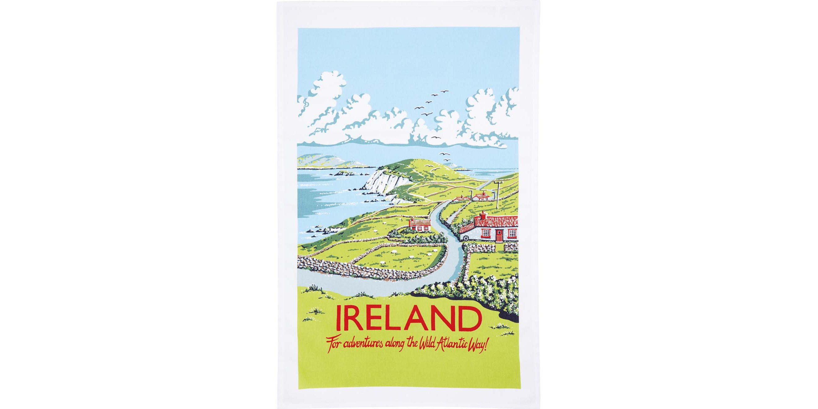 Traveling for Tea Towels