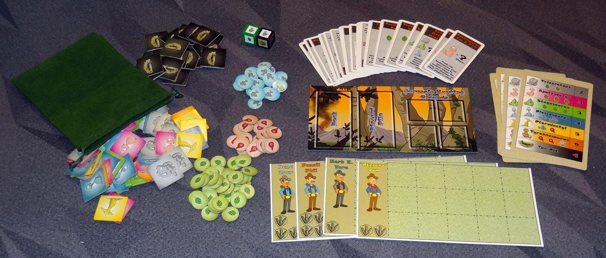 Dino Dude Ranch components