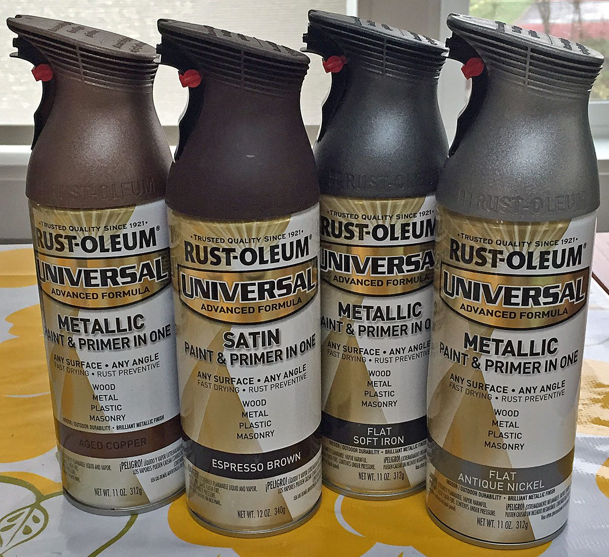 Metallic paints. Photo by Will James.