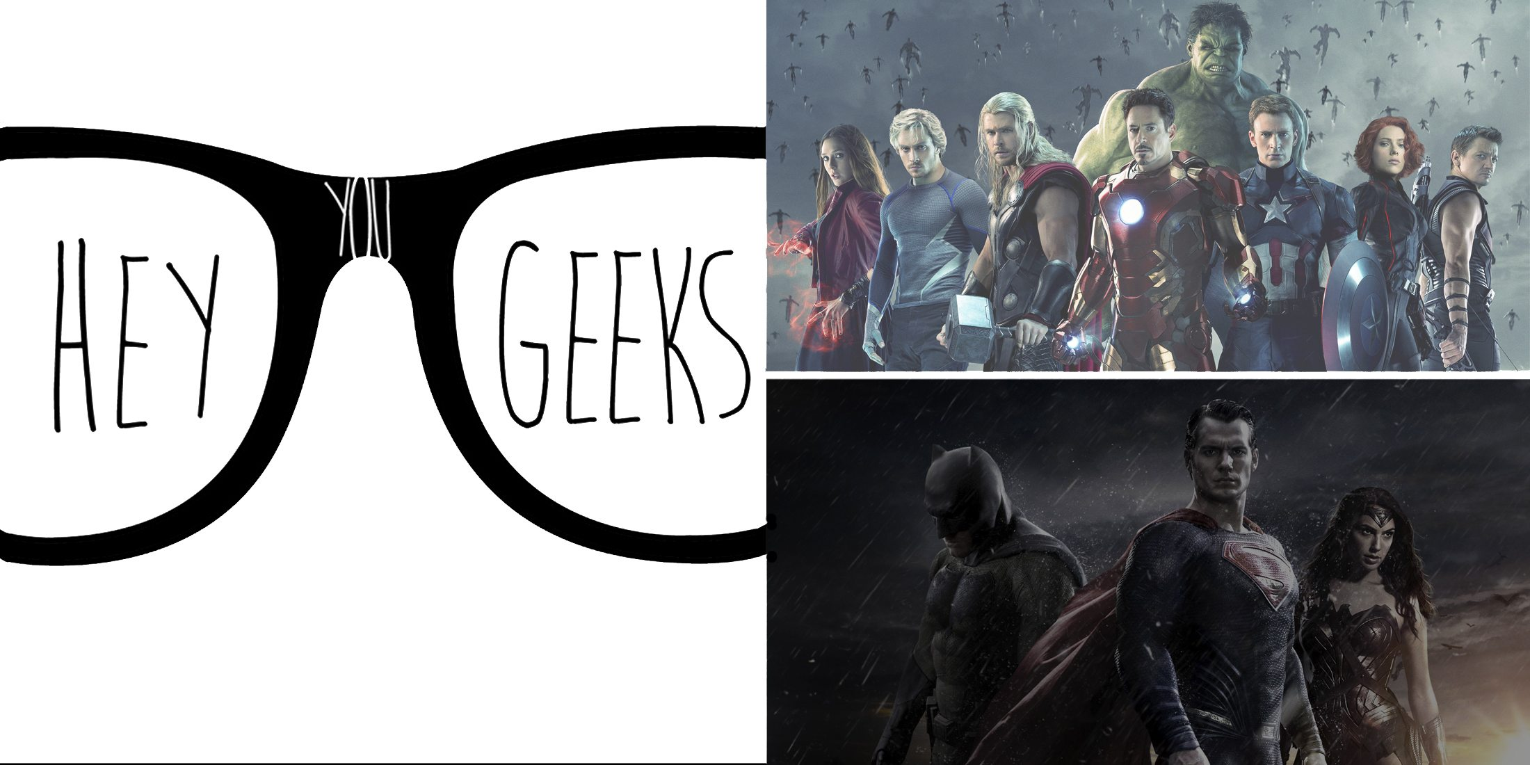 Hey You Geeks #40: The Dark and Light Sides of Superhero Movies
