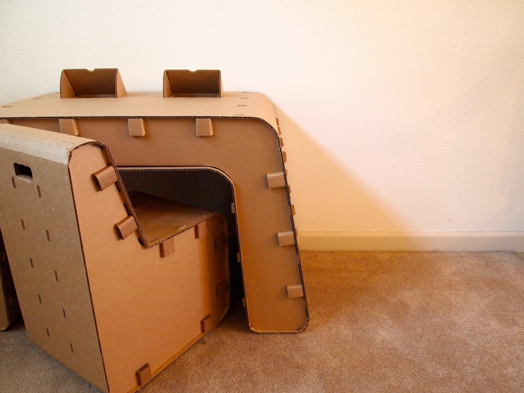 Kickstarter: Kids Imagination Furniture by The Cardboard Guys