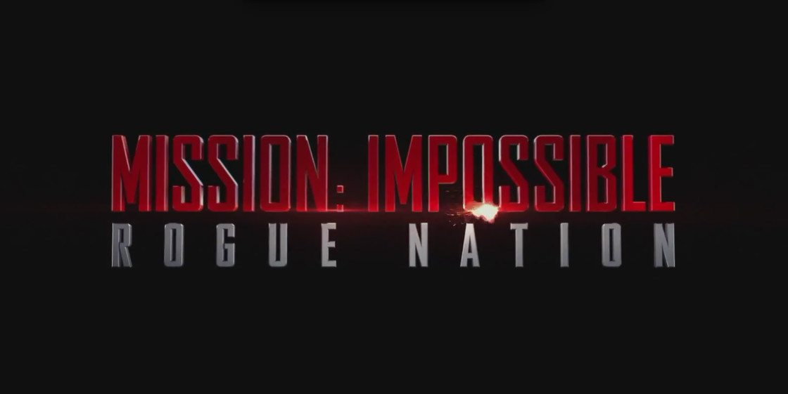 Mission: Impossible Rogue Nation Titlecard