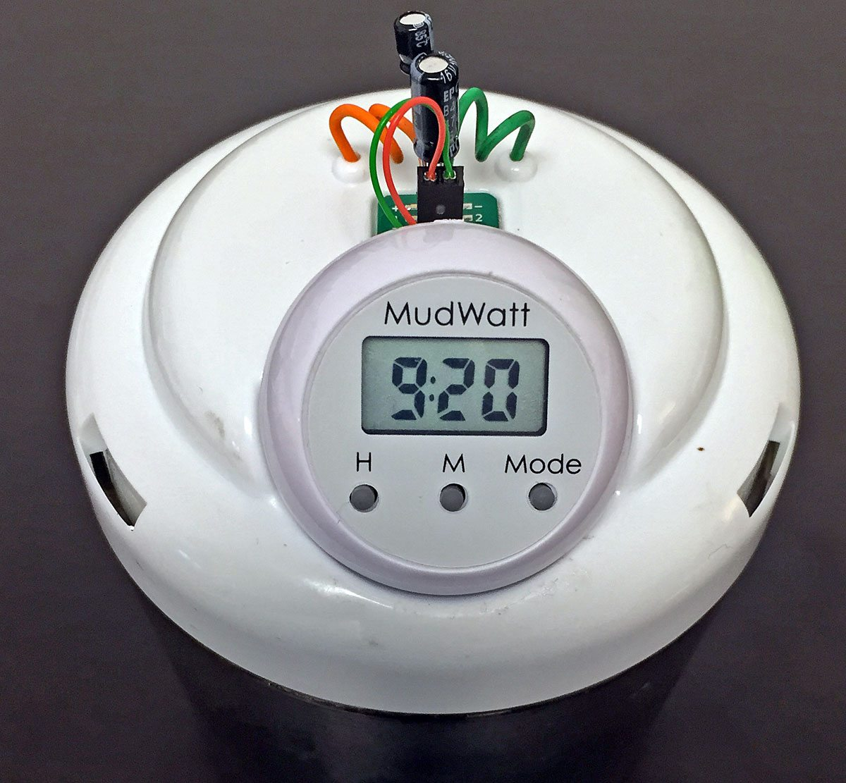 MudWatt-clock