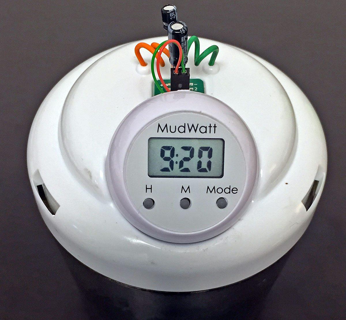 MudWatt-clock