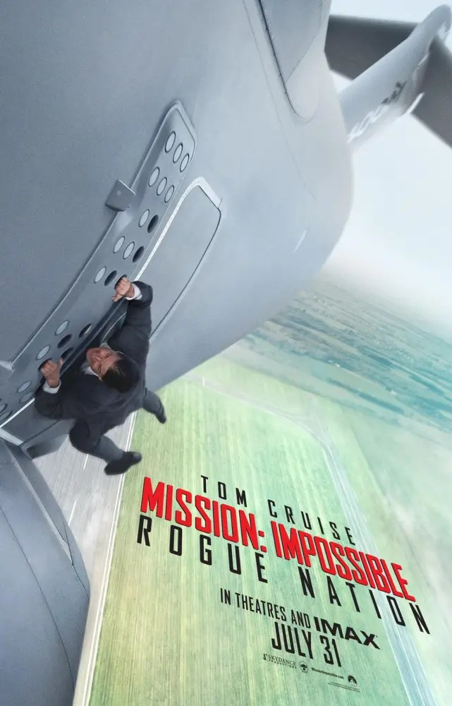 Mission: Impossible Rogue Nation Poster