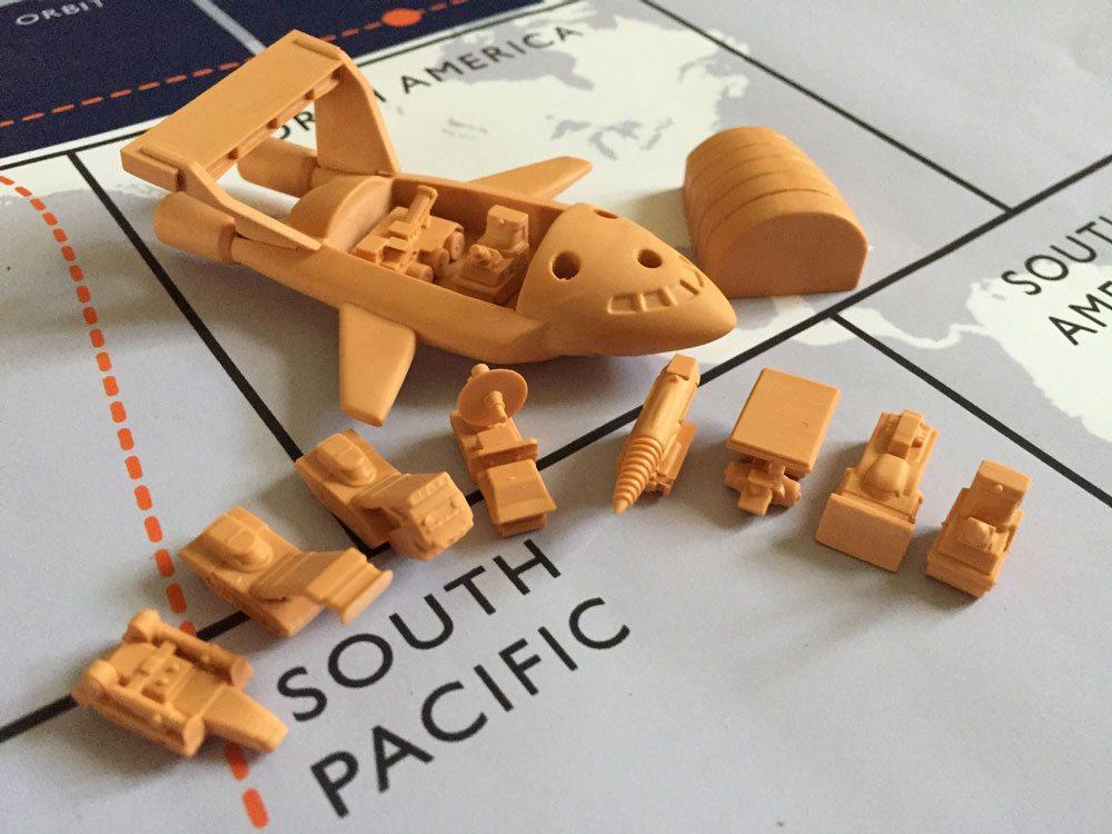 Thunderbird 2 and pods prototype