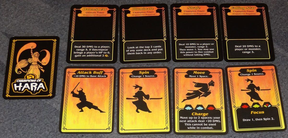 Champions of Hara cards