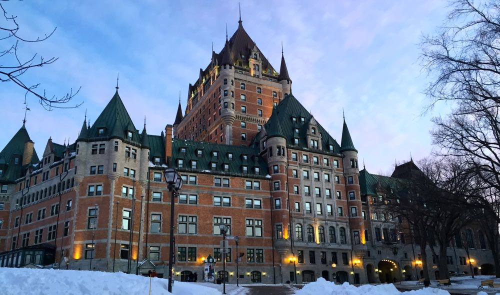 quebec city part one chateau frontenac and old quebec. Black Bedroom Furniture Sets. Home Design Ideas