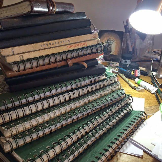 Hatke Sketchbooks