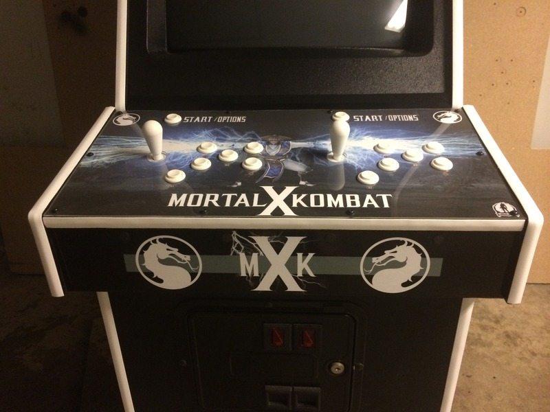 Mortal Kombat X Arcade Controls