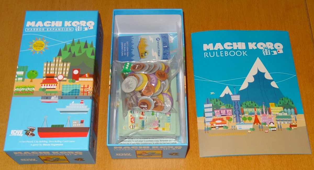 Machi Koro Harbor box