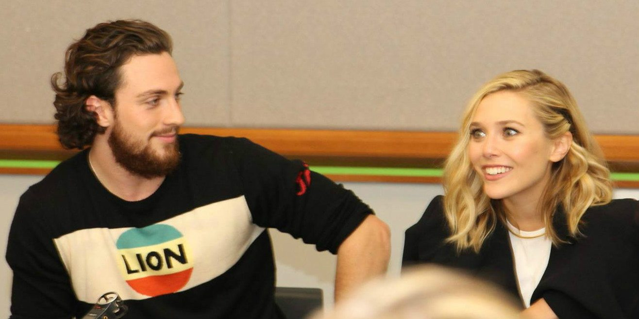 'Avengers: Age of Ultron': Aaron Taylor-Johnson and Elizabeth Olsen Talk Quicksilver and Scarlet Witch