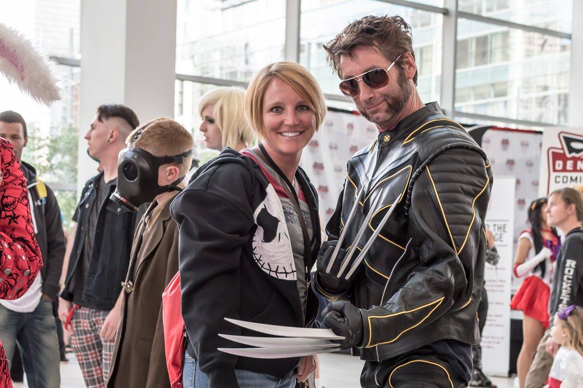 "Wolverine getting ""handsy?"" with my wife"