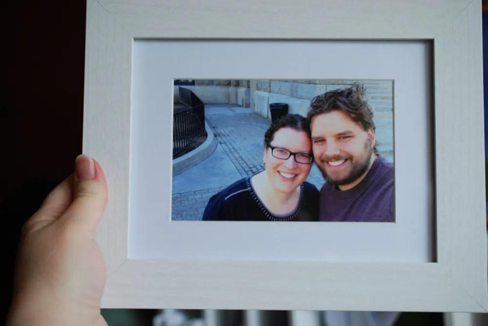 Framed! Photo: Jenny Bristol