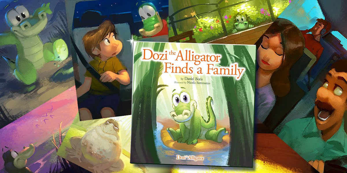 'Dozi the Alligator Finds a Family'