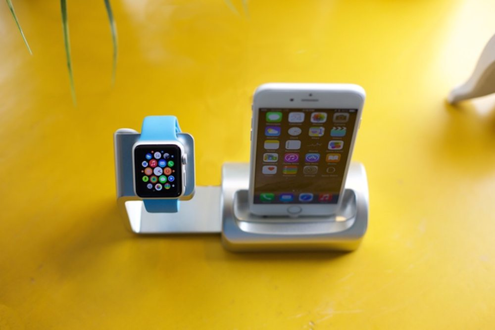 Kickstarter Alert: Duet iPhone and Apple Watch Dock