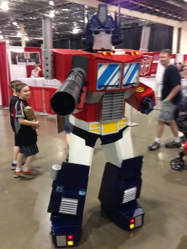 MCCC Optimus Prime Cosplay
