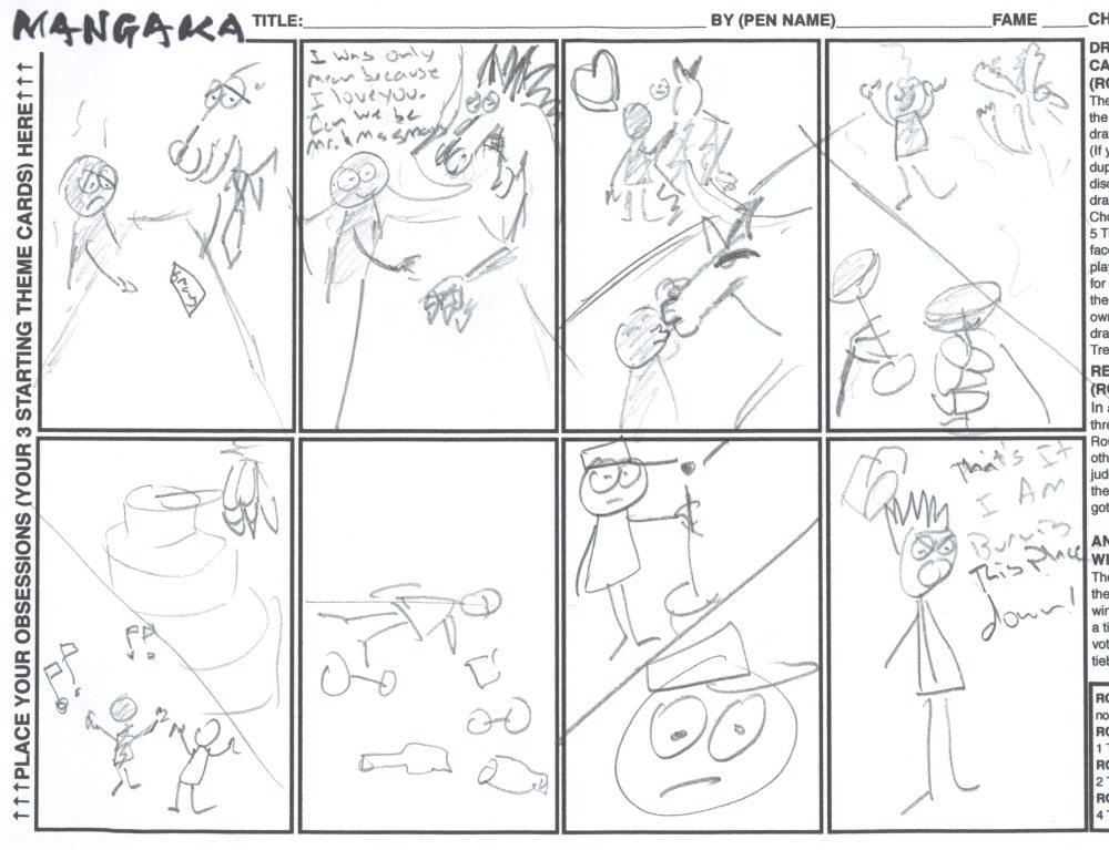 Mangaka Sample Round Four