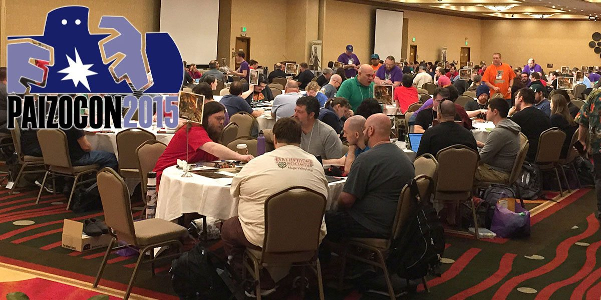 PaizoCon 2015: A Newbie's Perspective