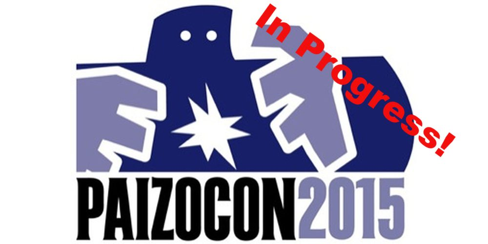 PaizoCon 2015 In Progress