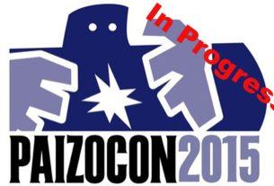PaizoCon 2015 In Progress