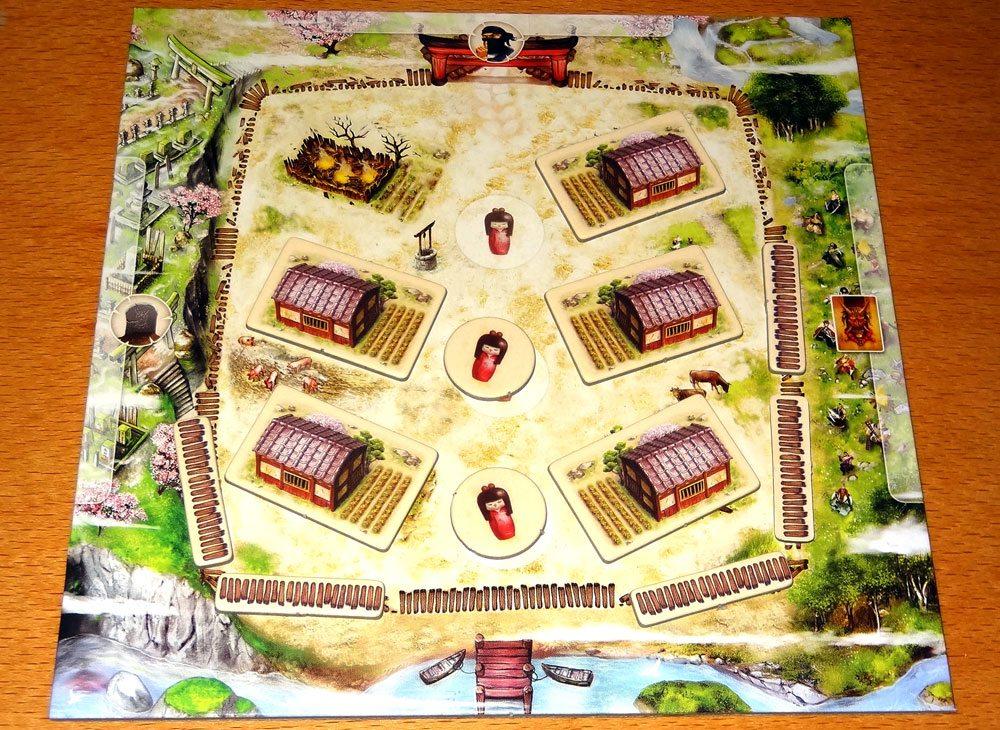 Samurai Spirit village