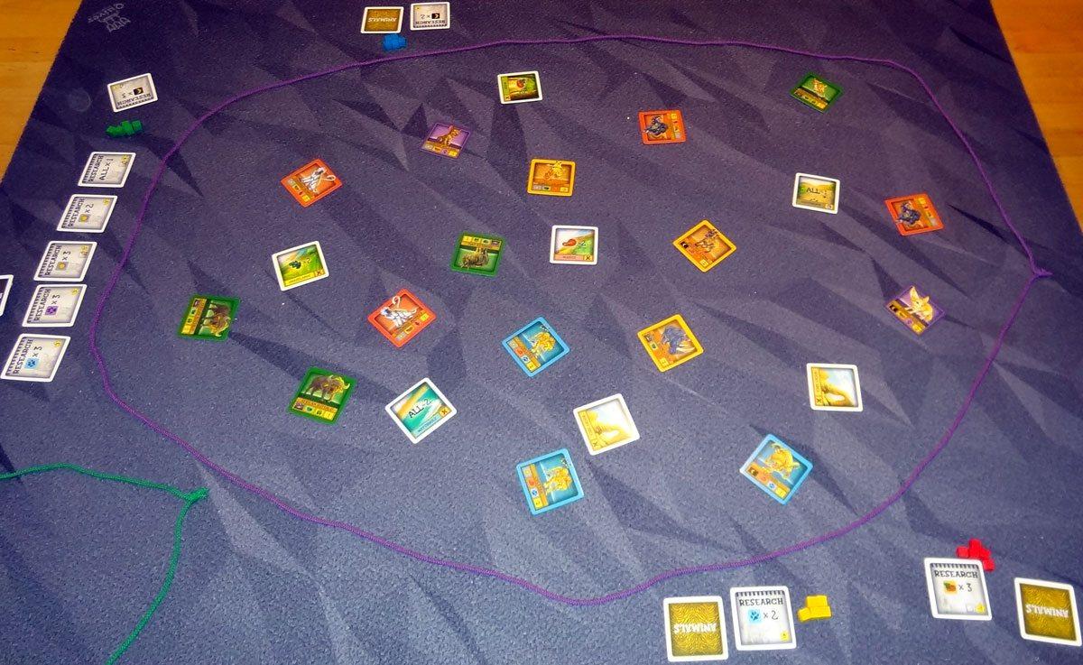 String Safari setup
