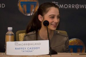 """Raffey Cassidy plays """"Athena."""" Photo by Stacy Bell Molter  FancyShanty.com Used by permission"""