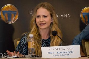 """Britt Robertson plays """"Casey Newton."""" Photo by Stacy Bell Molter  FancyShanty.com Used by permission"""