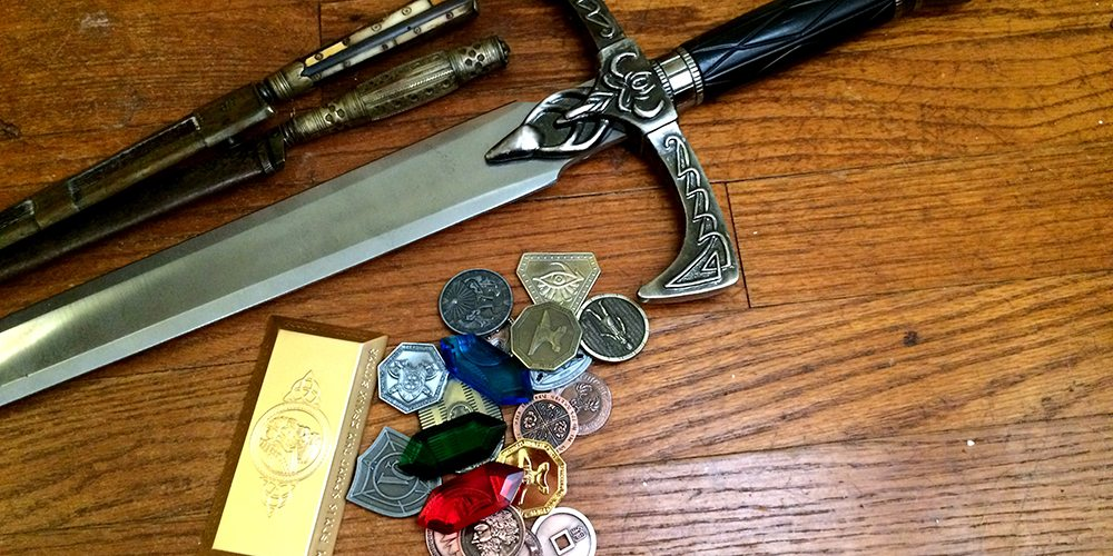 Treasure Mountain Metal Coins Accessory August Games