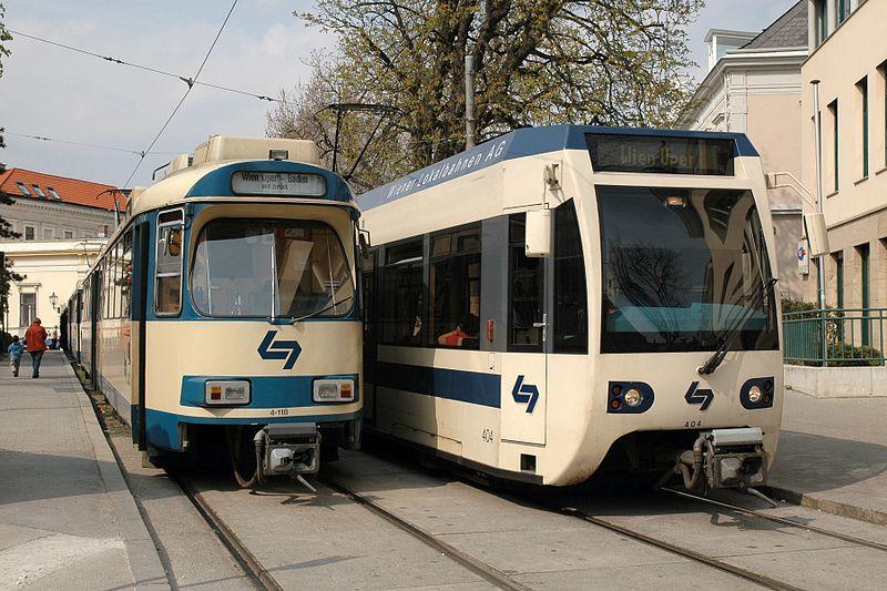 Vienna's Lokalbahn: Photo by Bahnsteig 1