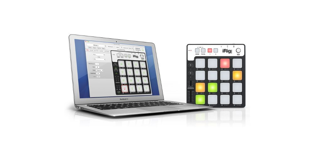 IK Multimedia Brings iRig Pads to Mac and PC