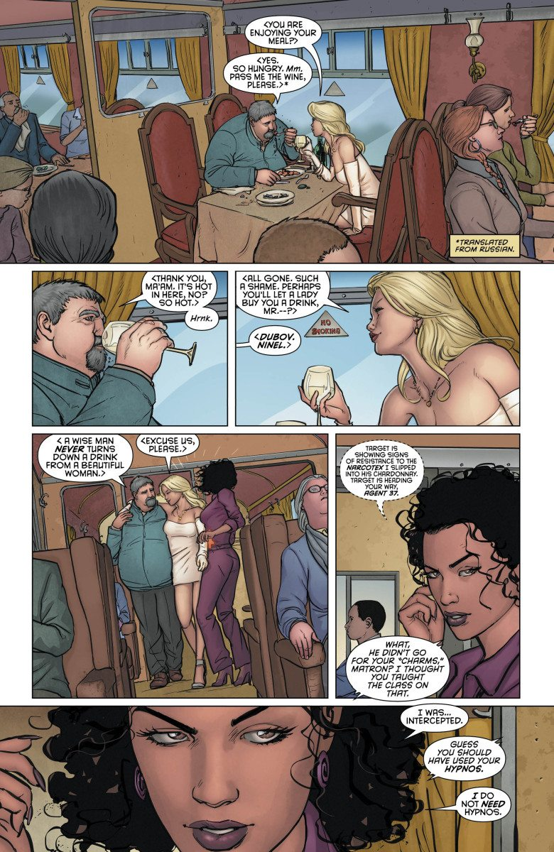 Grayson, Vol. 1, Page 5, Courtesy of DC Comics