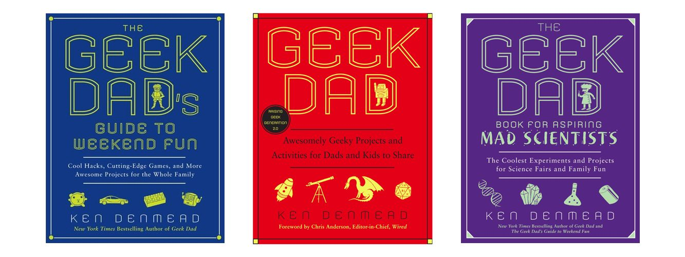 Father's Day Is Coming: Have You Got Your GeekDad Books Yet?